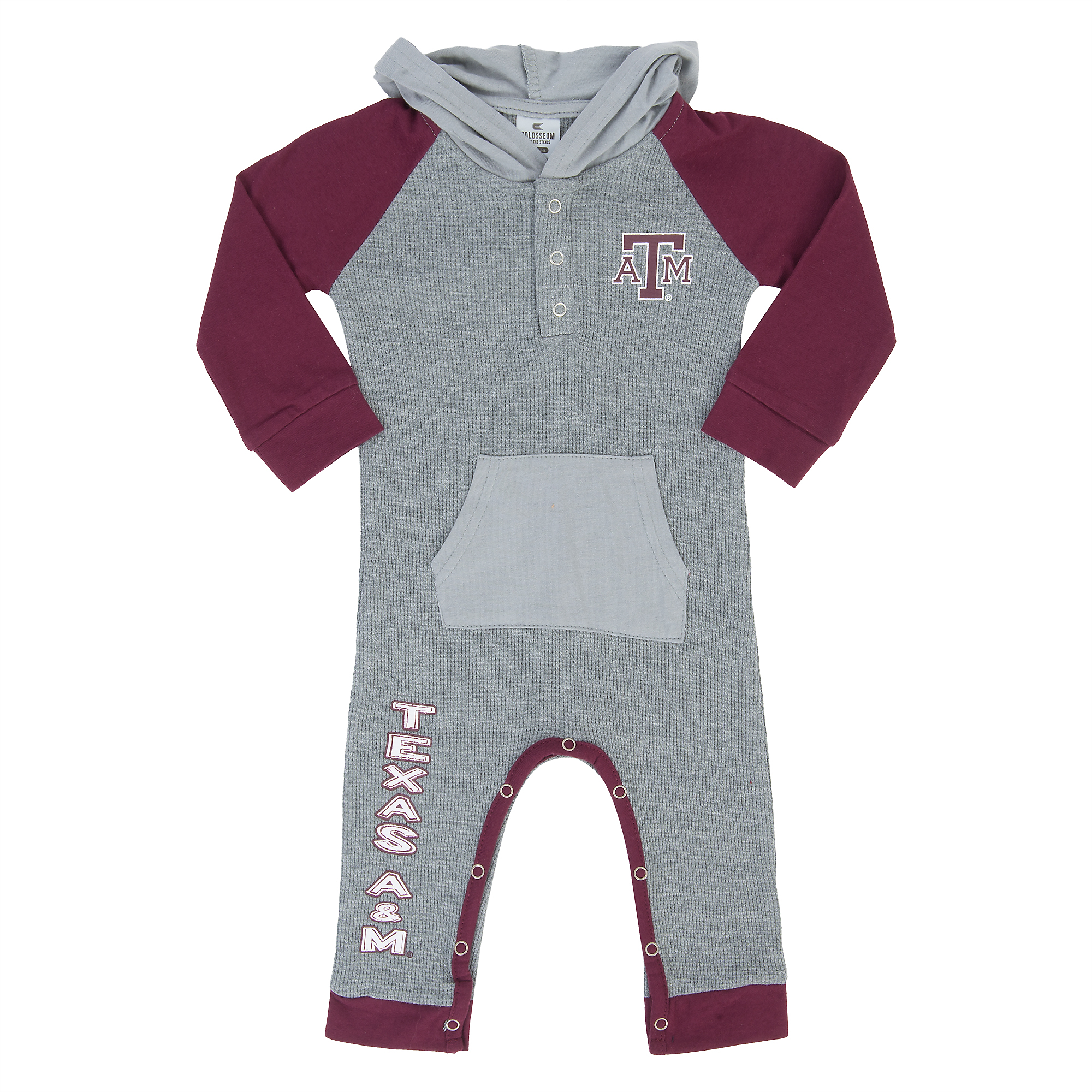 Texas A&M Aggies Colosseum Infant Robin Hooded Onesie