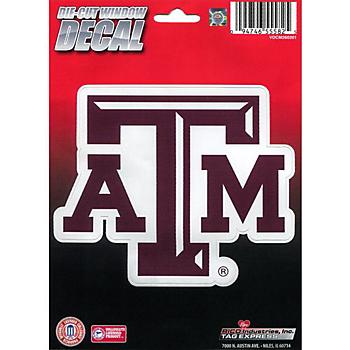 Texas A&M Aggies Medium Die Cut Decal