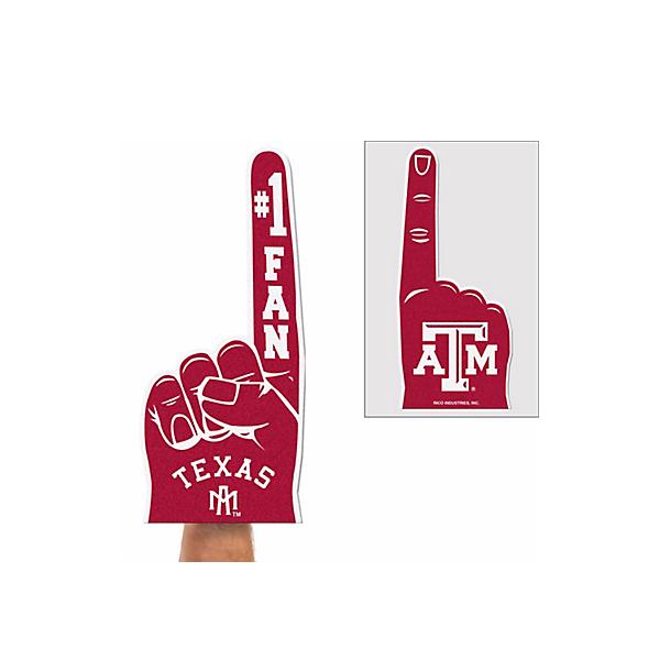 Texas A&M Aggies Flat Foam Finger