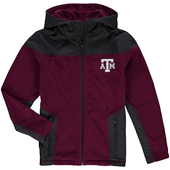 Texas A&M Aggies Colosseum Youth Corded Fleece Jacket