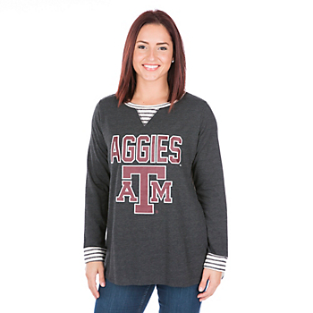 Texas A&M Aggies Womens Back Panel Tunic