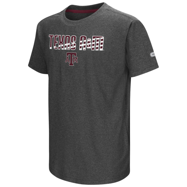 Texas A&M Aggies Colosseum Youth Hat Trick Tee