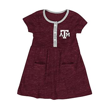 Texas A&M Aggies Colosseum Infant Triple Jump Dress
