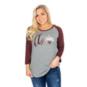 Texas A&M Aggies 47 Womens Gradient Script Raglan T-Shirt