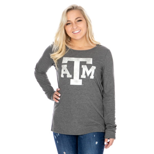 Texas A&M Aggies 47 Womens Campbell Thermal T-Shirt