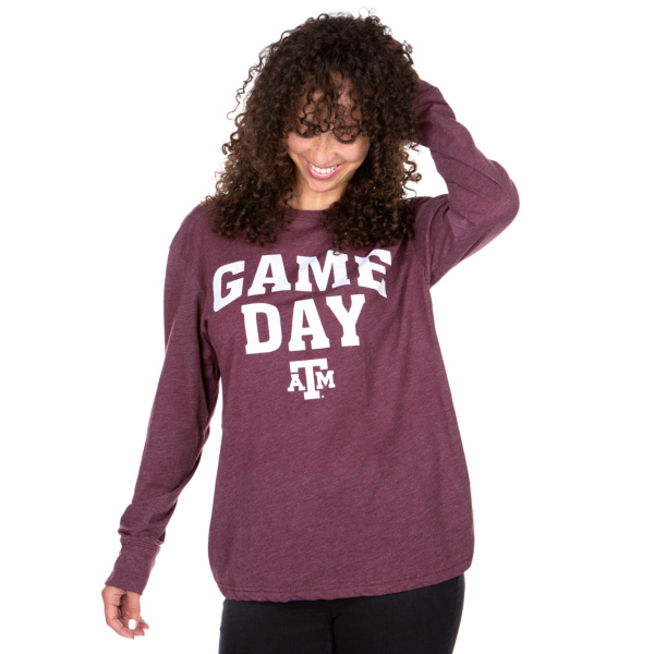Texas A&M Aggies Pressbox Game Day T-Shirt