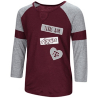 Texas A&M Aggies Colosseum Girls All You Need 3/4 Sleeve Tee