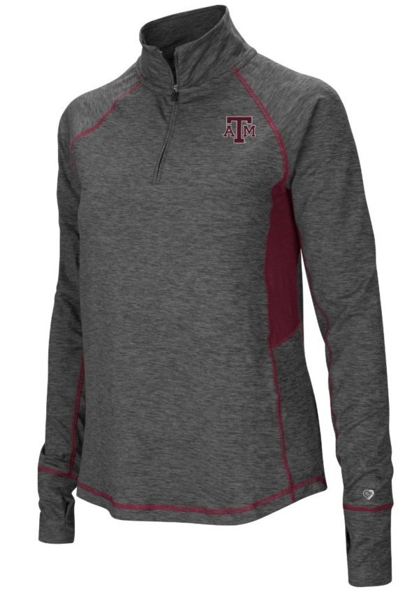 Texas A&M Aggies Womens Sabre 1/4 Zip Pullover