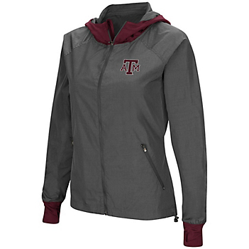 Texas A&M Aggies Womens Hooded Jacket