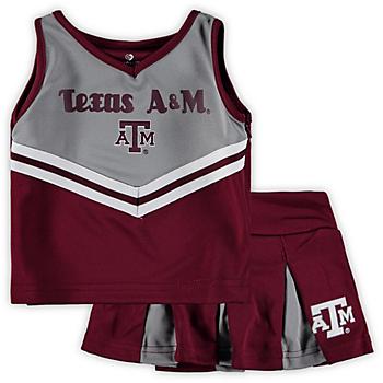 Texas A&M Aggies Girls Pom Pom Cheer Set