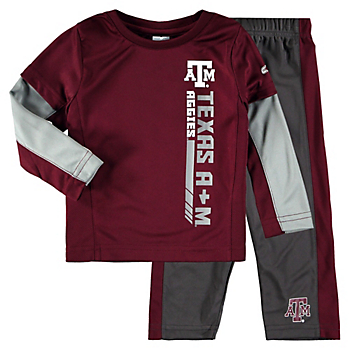 Texas A&M Aggies Colosseum Toddler We Got Us Set