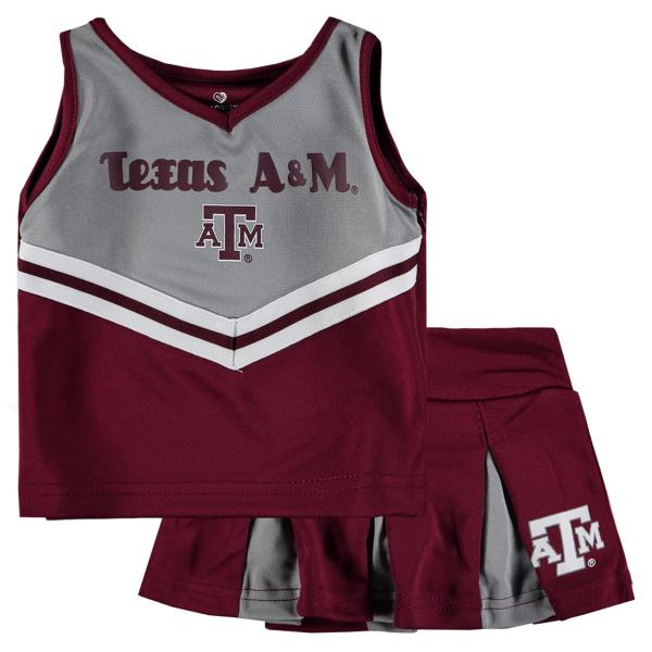 Texas A&M Aggies Toddler Pom Pom Cheer Set