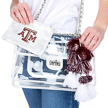 Texas A&M Aggies Sheer Gear Evie Chain Bag