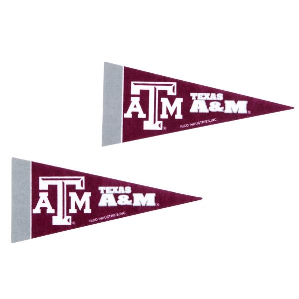 Texas A&M Aggies 2-Pack Mini Pennant