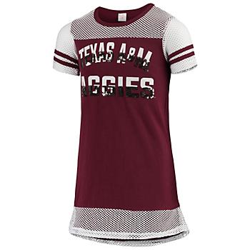 Texas A&M Aggies Colosseum Don't Be Talkin' Mesh Dress