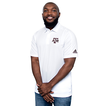 Texas A&M Aggies adidas Mens Game Mode Polo