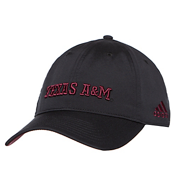 Texas A&M Aggies adidas Coach Slouch Adjustable Cap