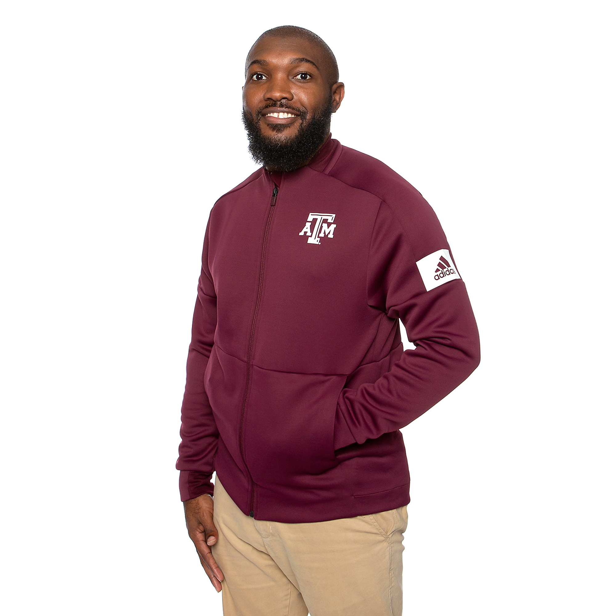 Texas A&M Aggies adidas Game Mode Bomber Jacket
