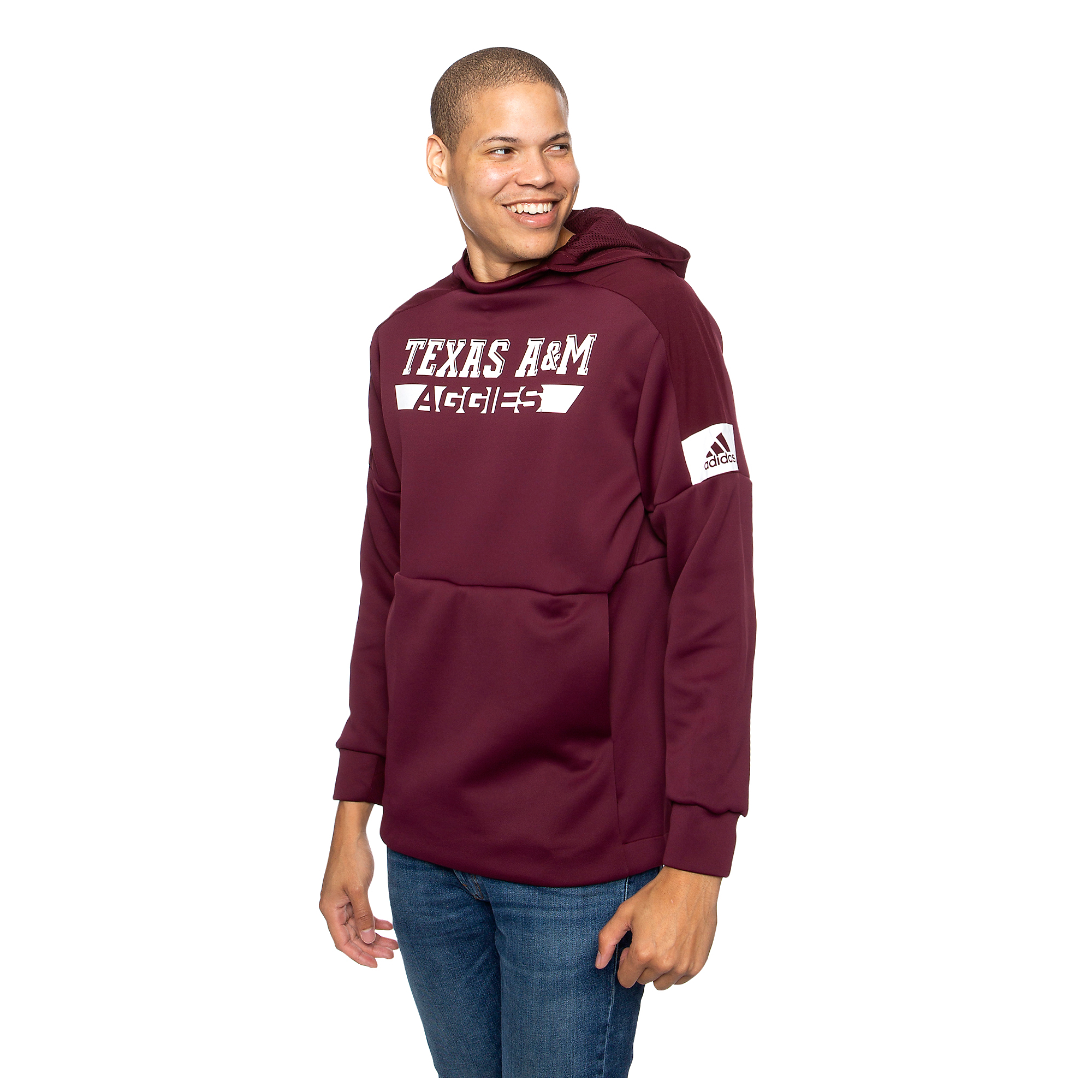 Texas A&M Aggies adidas Game Mode Pullover Hoody