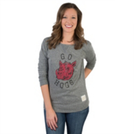 Arkansas Razorbacks Retro Scoop Back Tee