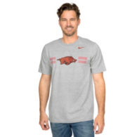 Arkansas Razorbacks Nike Logo Cotton Tee