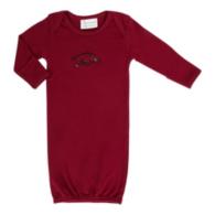 Arkansas Razorbacks Layette Gown