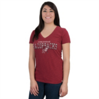 Arkansas Razorbacks 47 V-Neck Scrum Tee