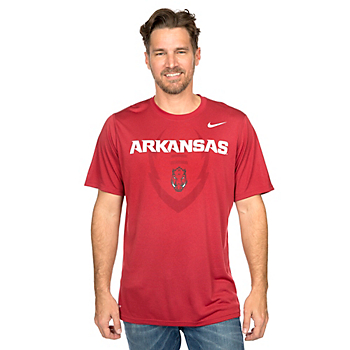 Arkansas Razorbacks Nike Icon Tee