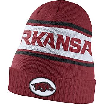 Arkansas Razorbacks Nike Sideline Knit Cap