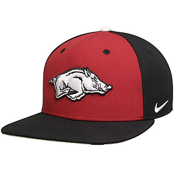 Arkansas Razorbacks Nike Pro Verbiage Adjustable Cap