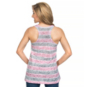 Arkansas Razorbacks Blue 84 Womens Greek Key Tank