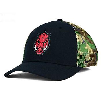 Arkansas Razorbacks Nike Camo Hook Cap