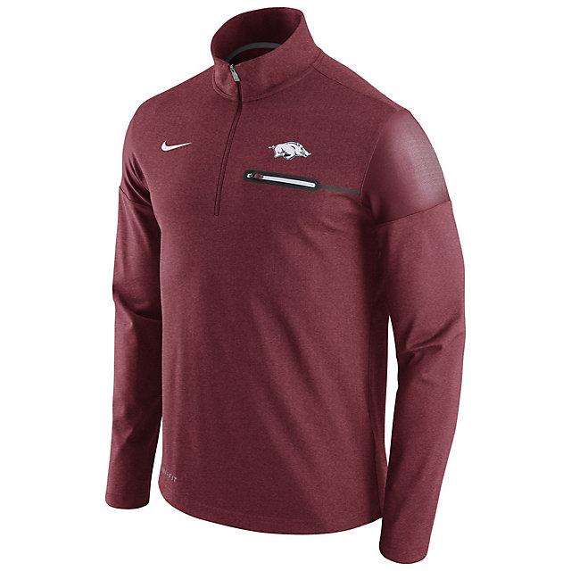 Arkansas Razorbacks Nike Coaches Half-Zip Pullover