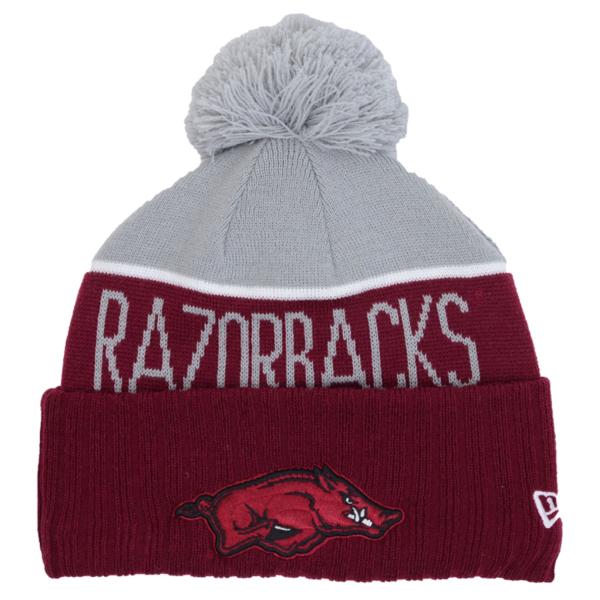 Arkansas Razorbacks New Era Sport Knit Hat