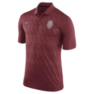 Arkansas Razorbacks Nike Dry Solid Polo