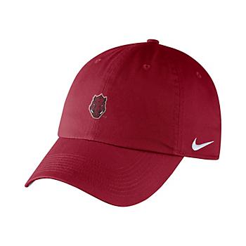 Arkansas Razorbacks Nike Heritage 86 Adjustable Cap