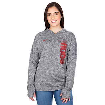 Arkansas Razorbacks Womens Nike Dry Element Hoody