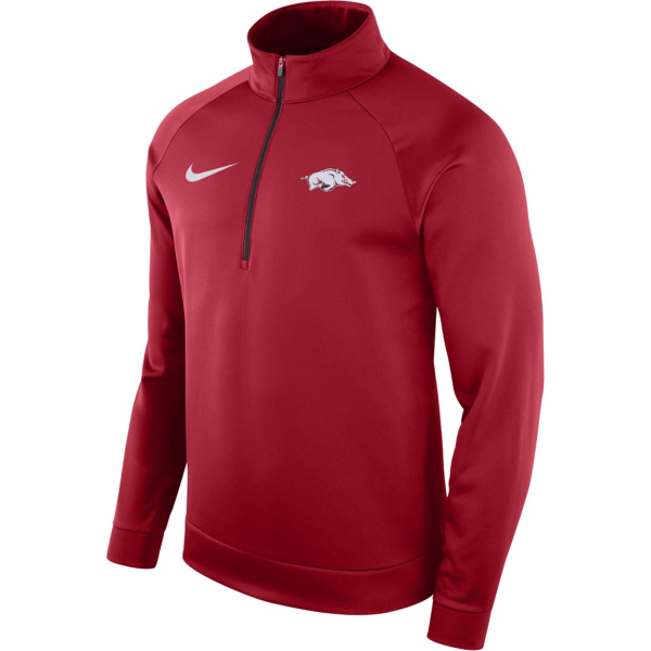 Arkansas Razorbacks Nike Therma Half Zip Pullover