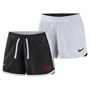 Arkansas Razorbacks Nike Womens Reversible Crew Shorts