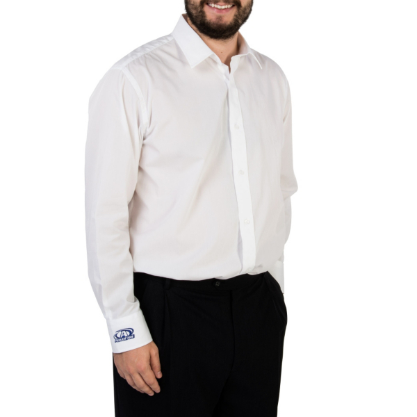 AdvoCare White Button Down Shirt