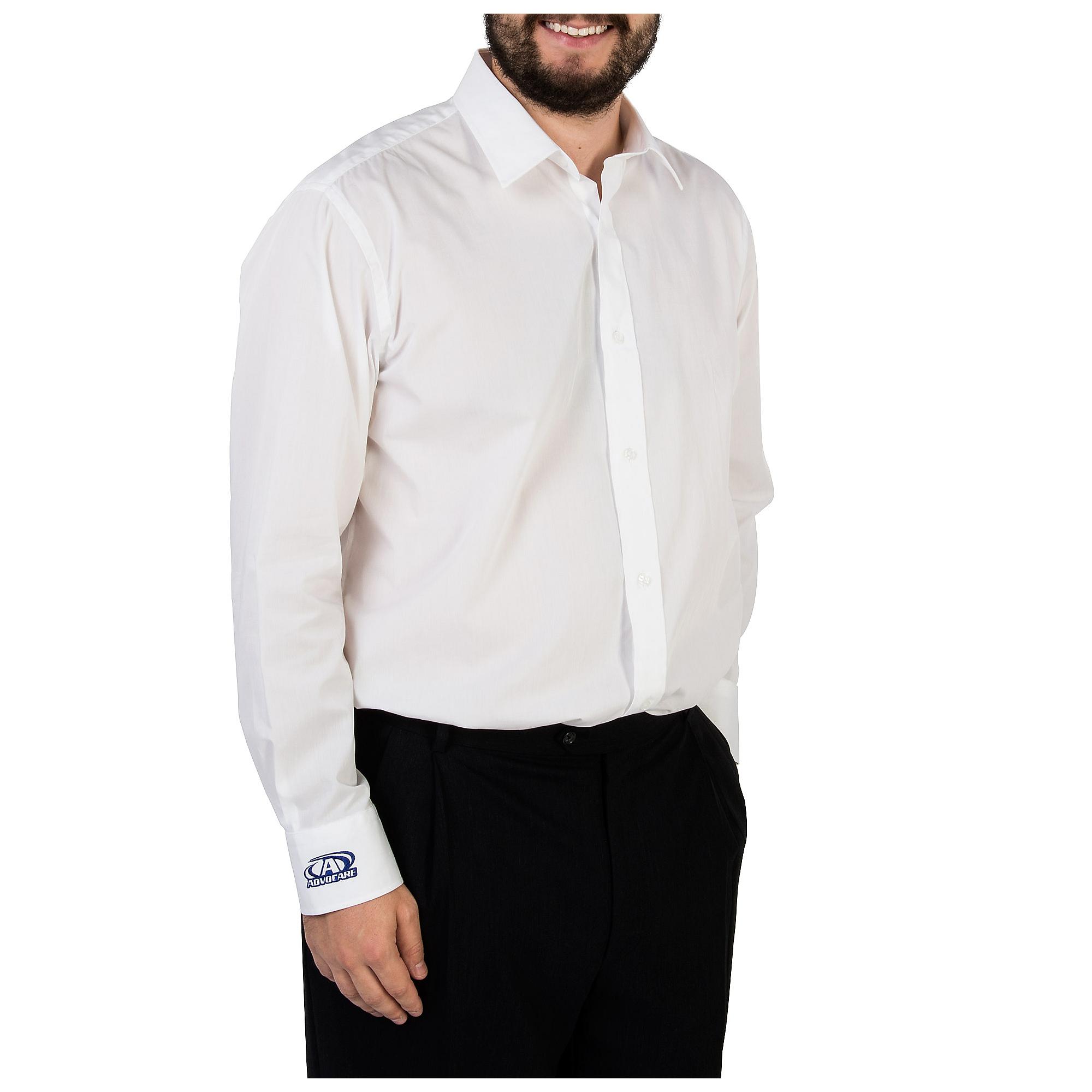 AdvoCare White Button Down Shirt