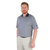 AdvoCare Classic Stripe Cotton Lisle Polo