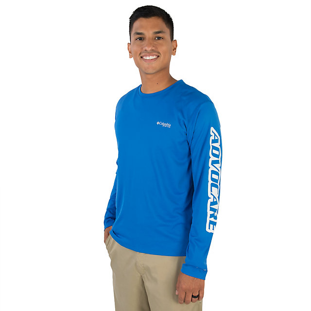 AdvoCare Columbia Zero Rules Long Sleeve Performance Tee