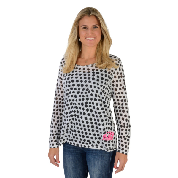 AdvoCare Polka Dot Sweater