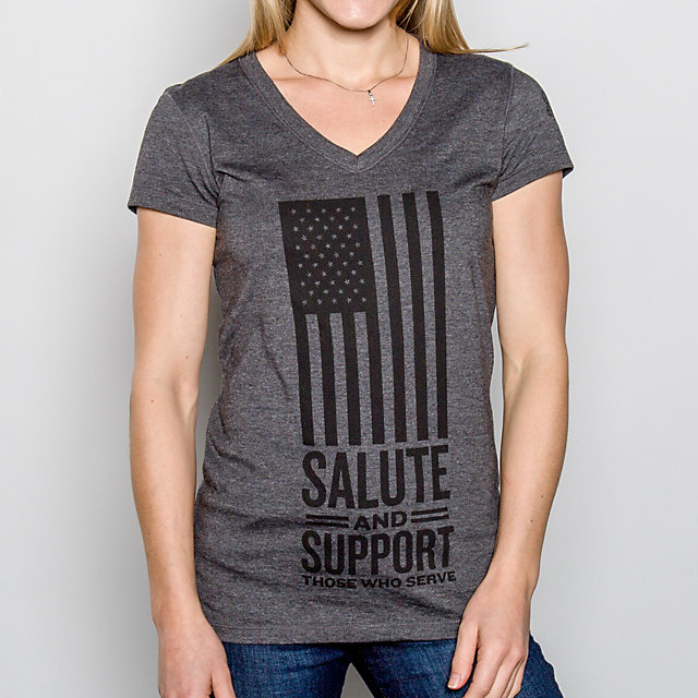 AdvoCare Ladies Salute and Support Tee