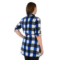 AdvoCare Plaid Tunic Dress
