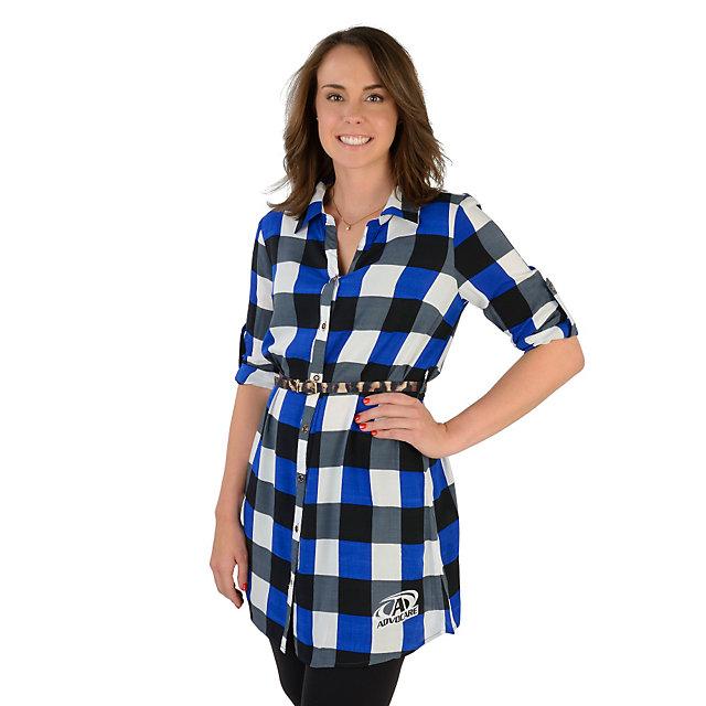 AdvoCare Plaid Tunic Dress