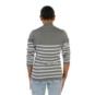 AdvoCare Striped Lurex Quarter-Zip Pullover