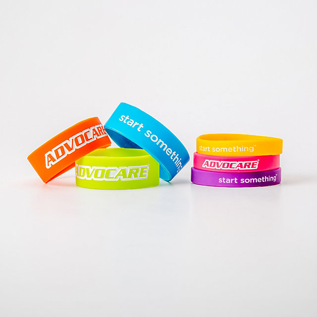 AdvoCare Start Something Wristbands - 6 pack
