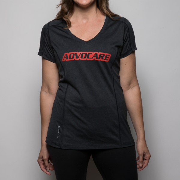 AdvoCare Ladies OGIO Endurance Pulse V-neck Tee
